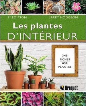 Les plantes d'intérieur - Broquet - 9782896546374 -