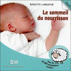 Le sommeil du nourrisson - Santé - Vie pratique - de mortagne - 9782896625963 -