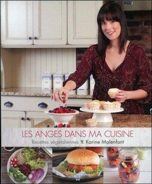 Les anges dans ma cuisine. Recettes végétaliennes - ada - 9782897672232 -