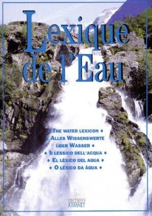 Le lexique  de l'eau - johanet - 9782900086735 -