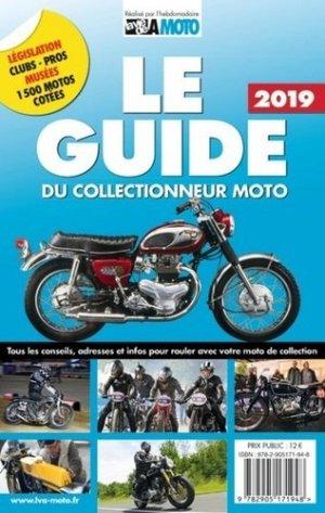 Le guide & la cote du collectionneur moto 2020 - lva (la vie de l'auto) - 9782905171986 -