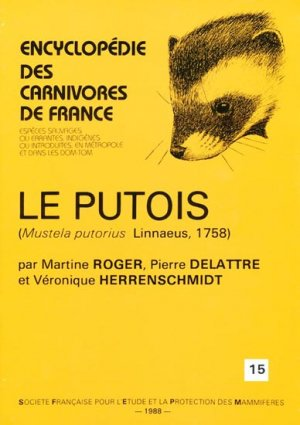 Le putois - museum national d'histoire naturelle - 9782905216168 -