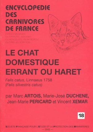 Le chat domestique errant ou haret - museum national d'histoire naturelle - mnhn - 9782905216427 -