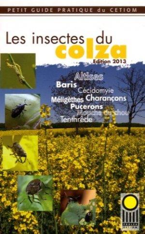 Les insectes du colza - cetiom - 9782908645675 -