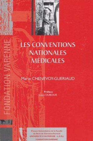 Les conventions nationales médicales - presses universitaires clermont-ferrand - 9782912589248 -