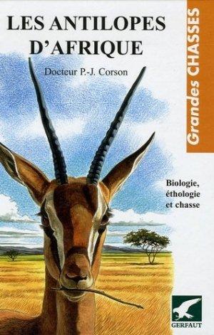 Les antilopes d'Afrique - gerfaut - 9782914622431 -
