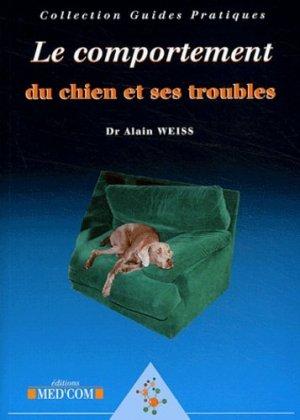 Le comportement du chien et ses troubles - med'com - 9782914738064 -
