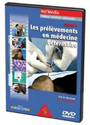 Les prélèvements en médecine vétérinaire - med'com - 9782914738477 -