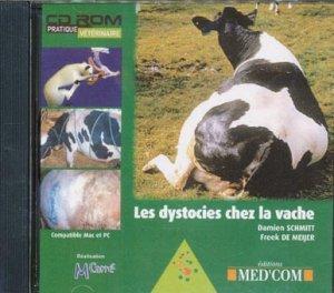 Les dystocies chez la vache - med'com - 9782914738910 -
