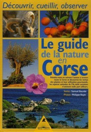 Le guide de la nature en Corse - Tétras - 9782915031430 -