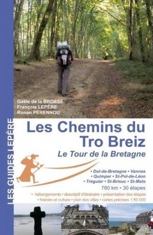 Les chemins du Tro Breiz - lepere - 9782915156751 -
