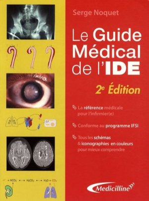 Le Guide médical de l'IDE - Médicilline - 9782915220186 -
