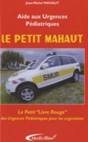 Le petit  Mahaut - medicilline - 9782915220254 -