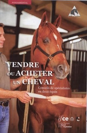 Le cheval et la vente - les haras nationaux - 9782915250770 -