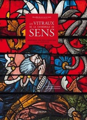 Les vitraux de la cathédrale de Sens - a propos - 9782915398120 -