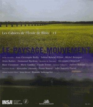 Le paysage - mouvement - de la villette - 9782915456929 -