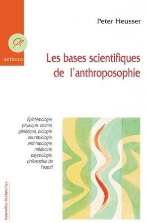 Les bases scientifiques de l'anthroposophie - Aethera - 9782915804447 -