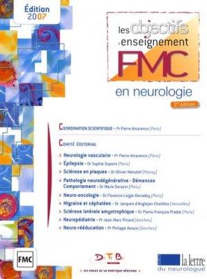 Les objectifs enseignements FMC en neurobiologie - datebe - 9782915968118 -