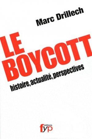 Le Boycott - fyp - 9782916571553 -