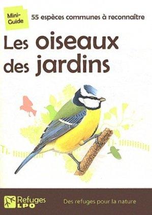 Les oiseaux des jardins - lpo - 9782917791004 -