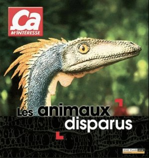 Les animaux disparus - one plus one - 9782919303007