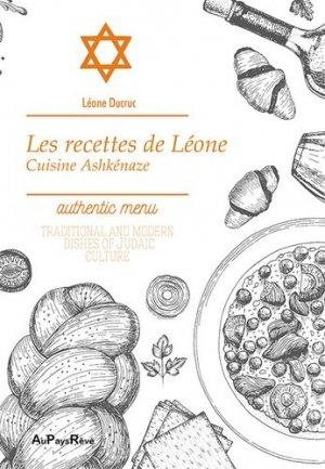 Les recettes de Léone. Cuisine ashkenaze - Au pays rêvé - 9782919342402 - majbook ème édition, majbook 1ère édition, livre ecn major, livre ecn, fiche ecn