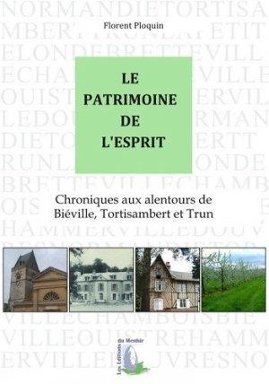 Le patrimoine de l'esprit - du menhir - 9782919403721 -