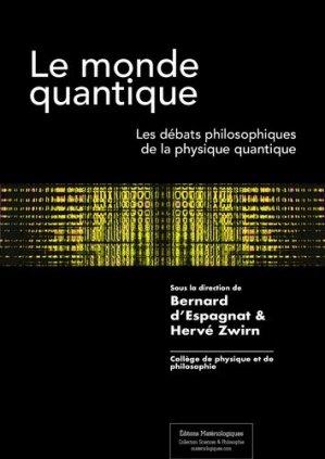 Le monde quantique - materiologiques - 9782919694587 -