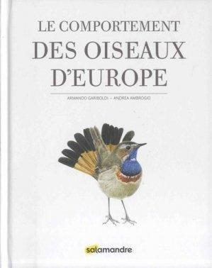 Le comportement des oiseaux d'Europe - la salamandre - 9782940584536 -