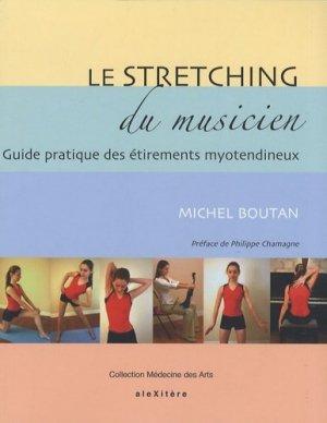 Le stretching du musicien - alexitere - 9782952761635 -