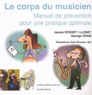 Le corps du musicien - alexitere - 9782952761659 -