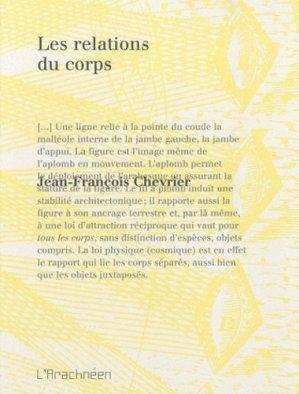 Les relations du corps - L'Arachnéen - 9782952930277 -