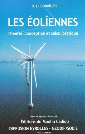 Les éoliennes - moulin cadiou - 9782953004106 -