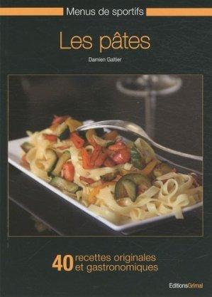 Les pâtes - Grimal Editions - 9782953328769 -