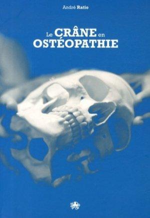 Le crâne en ostéopathie - andre ratio - 9782954124605 -