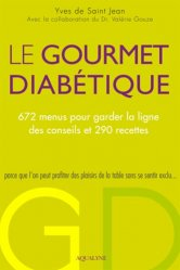 Le Gourmet diabétique - aqualyne - 9782954182933 -