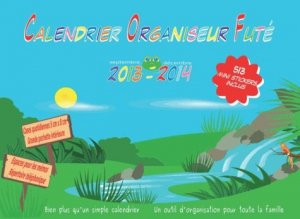 Le Calendrier Organiseur Futé 2013-2014 - Editions Katak - 9782954207124 -