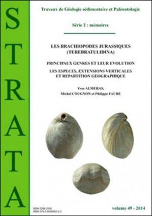 Les brachiopodes jurassiques (Terebratulidina) - association strata - 9782954845203 -