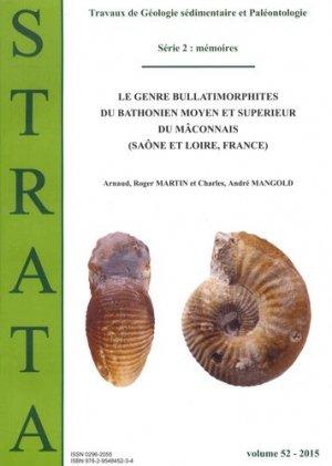 Le genre Bullatimorphites du Bathonien moyen et supérieur du mâconnais (Saône et Loire, France) - Association Strata - 9782954845234 -