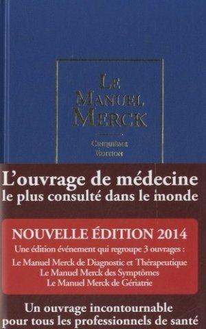 Le manuel Merck - d'apres - 9782954848303 -