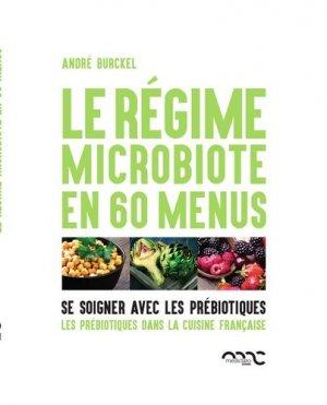 Le régime microbiote en 60 menus - mediclaro - 9782960171327 -