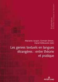 Les genres textuels en langues étrangères : entre théorie et pratique - Peter Lang - 9783034336307