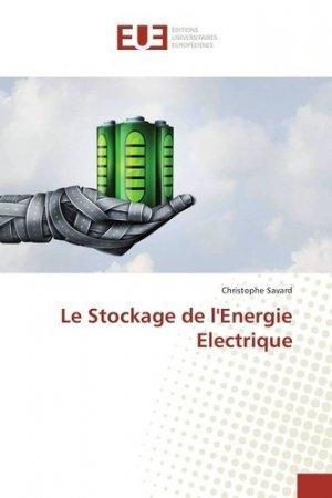 Le stockage de l'énergie électrique - Editions universitaires européennes - 9783330867314 -