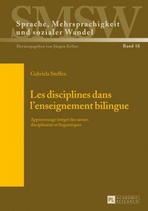 Les disciplines dans l'enseignement bilingue - Peter Lang - 9783631637357 -