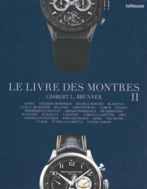 Le livre des montres, tome 2 - teneues - 9783832734725 -