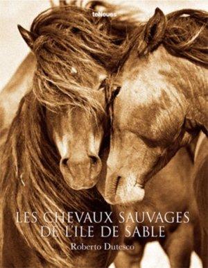 Les chevaux de l'île de sable - teneues - 9783832798802 -