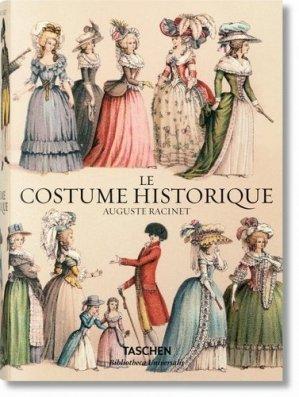 Le costume historique. Du monde antique au XIXe siècle - Les planches complètes en couleur - Taschen - 9783836559553 -