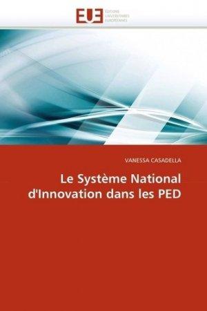 Le Système National d'Innovation dans les PED - Editions Universitaires Européennes - 9786131533822 -
