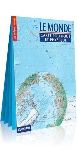 Le Monde Carte Politique et Physique - Express Map - 9788381903257 -