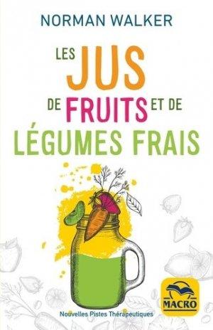 Les jus de fruits et de légumes frais - macro - 9788828516736 -